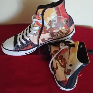 New, without box, Looney Tunes Converse shoes